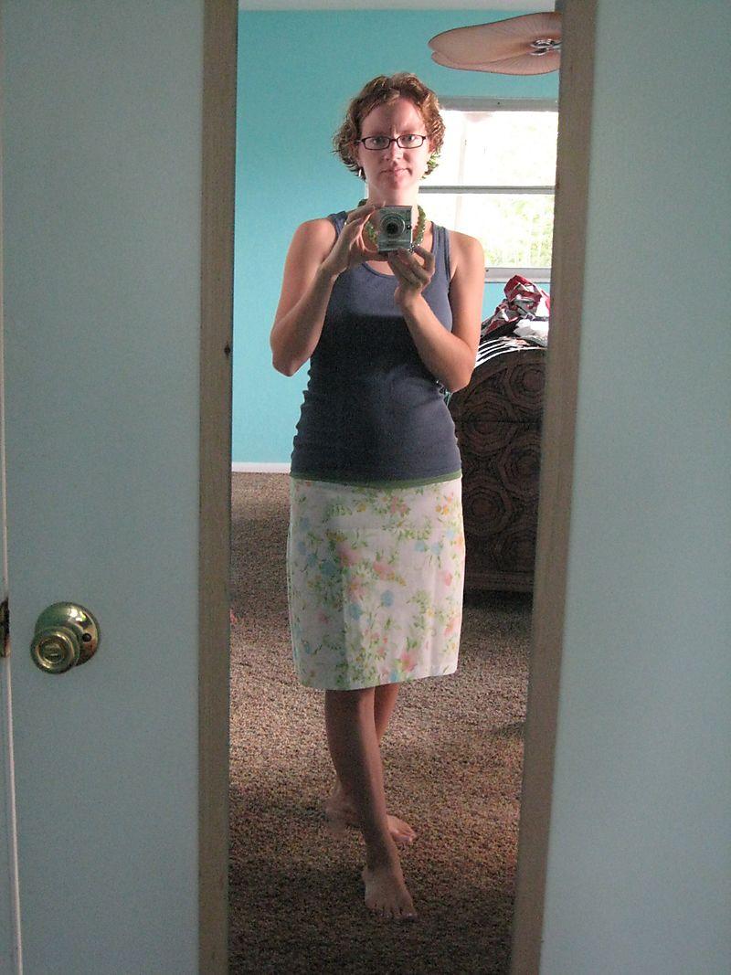 Evening fun, new skirt & hair 029