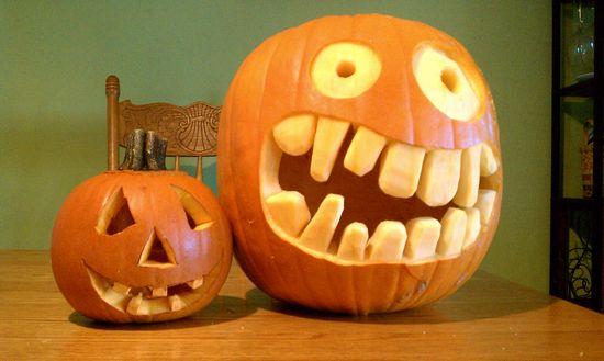 Halloween, movie, carving 021