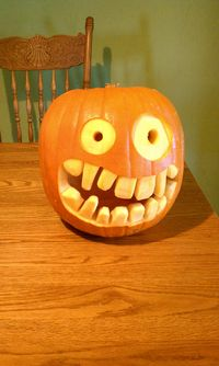 Halloween, movie, carving 019