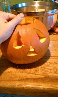 Halloween, movie, carving 013