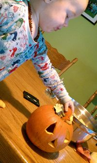 Halloween, movie, carving 014