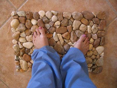 River Rock Floor Mat
