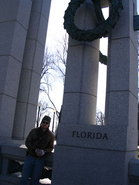 States at WWII Memorial