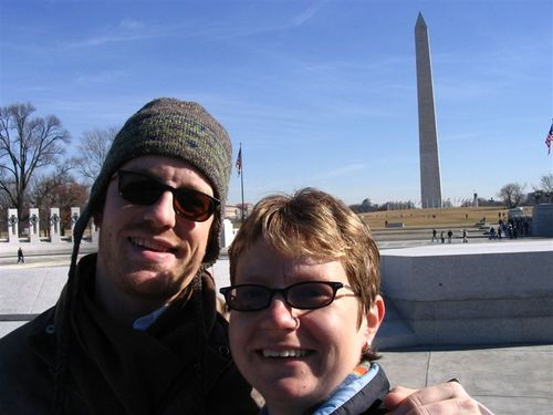 Us at the Monument